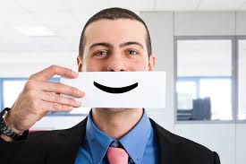 Is serving with a smile good for you?