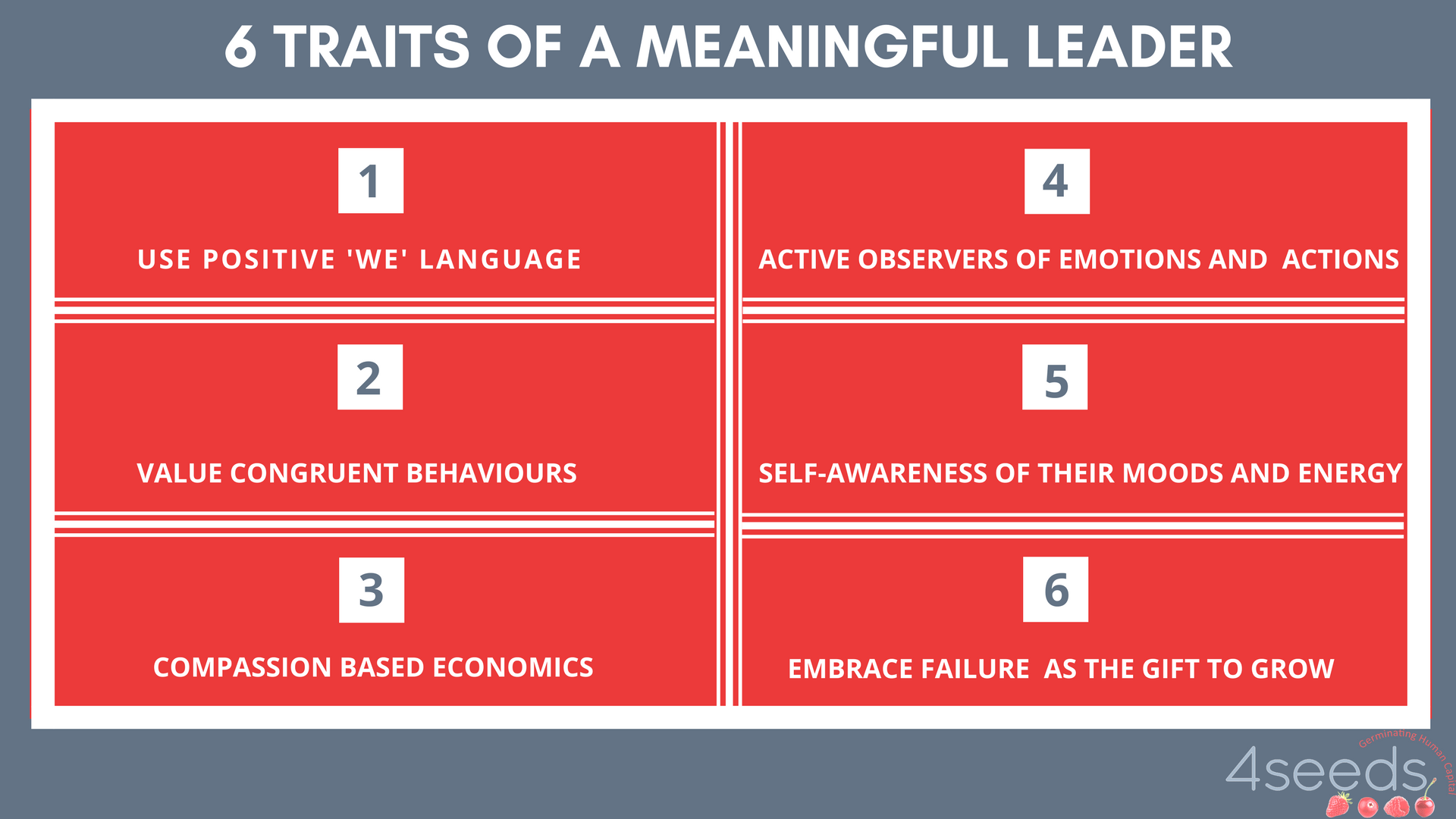 6 Practical Steps to Become A Meaningful Leader - 4Seeds